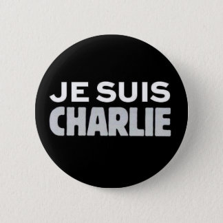 Je Suis Charlie 2 Inch Round Button