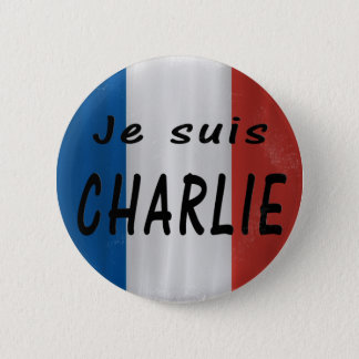 Je suis Charlie badge 2 Inch Round Button