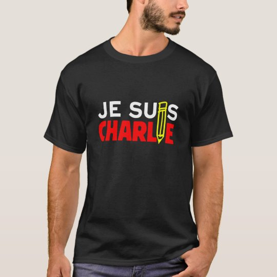 Je Suis Charlie - I Am Charlie (FREE SPEECH!) T-Shirt
