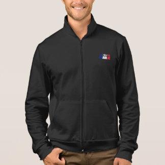 Je Suis Charlie -I am Charlie- Tri-Color of France Printed Jackets