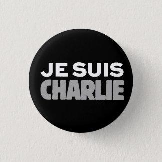 Je Suis Charlie-I am Charlie-Universal Slogan 1 Inch Round Button
