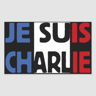 Je Suis Charlie My Pen is my Weapon Sticker