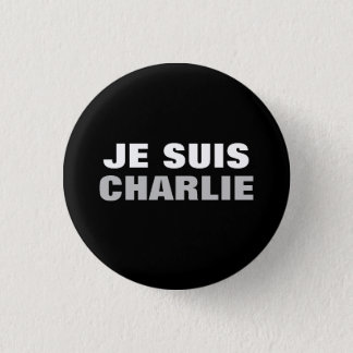 Je Suis Charlie OS 1 Inch Round Button