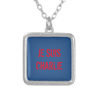 JE SUIS CHARLIE PENDANT NECKLACE