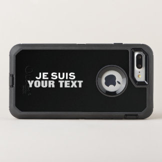 """Je suis Charlie"" PRINT CUSTOM FUN PHONE CASE"