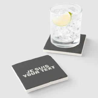 """""""Je suis Charlie"""" PRINT YOUR OWN CUSTOM COASTERS"""