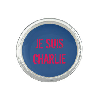 JE SUIS CHARLIE SILVER RING