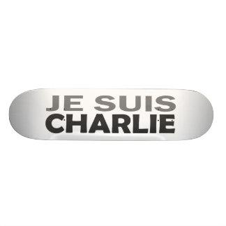 Je Suis Charlie Skate Deck