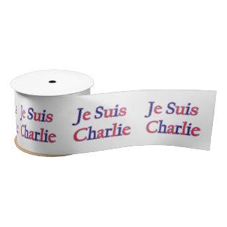 Je Suis Charlie Satin Ribbon
