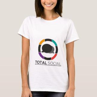 Je suis chemise sociale totale de Dopin T-shirt