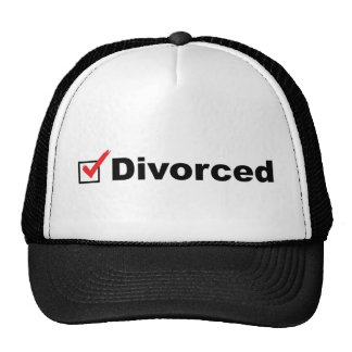 Je suis divorcé et disponible casquettes de camionneur