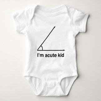 Je suis enfant aigu pour le geeks de maths tee-shirts