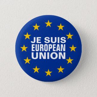 Je suis European Union 2 Inch Round Button