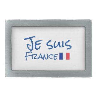 Je suis France Belt Buckle