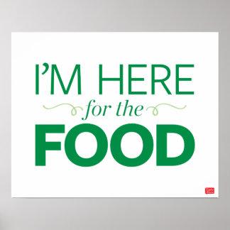 Je suis ici pour la nourriture