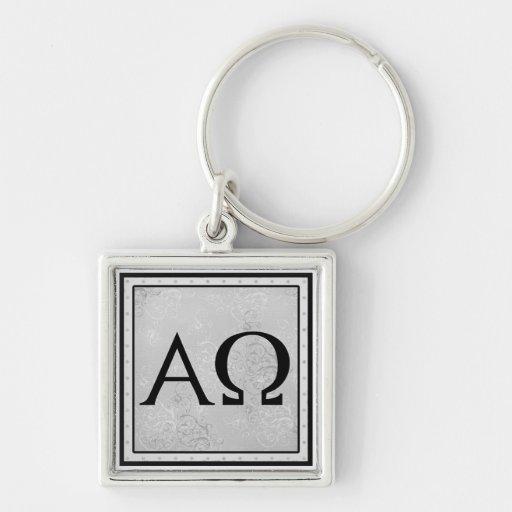 Je suis l'alpha et Omega, le premier et durent Porte-clefs