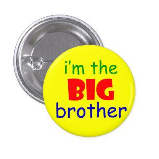 Je suis le bouton de frère macaron rond 2,50 cm