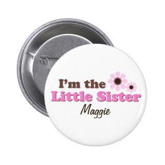 Je suis les fleurs de mod de petite soeur personna badge