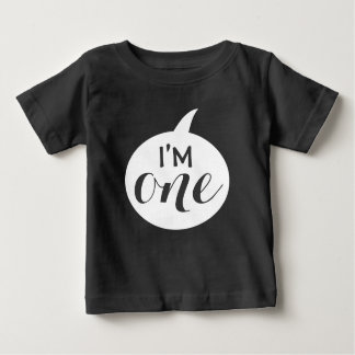 """""""Je suis l'un"""" ęr bébé d'anniversaire T-shirt Pour Bébé"""