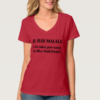 Je Suis Malala - L'éducation pour les Filles T-Shirt