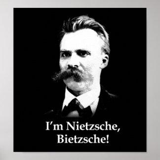Je suis Nietzsche, Bietzsche ! Poster