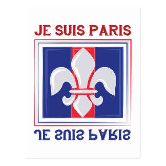 Je Suis Paris Postcard
