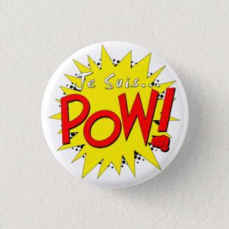 Je suis POW Badge 1 Inch Round Button
