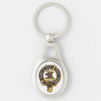 Je Suis Prest - Clan Fraser Crest Keychain