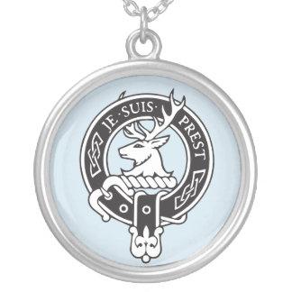 Je Suis Prest - Clan Fraser Crest Silver Plated Necklace