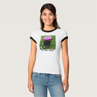 Je Suis Prest Scottish Thistle T T-Shirt