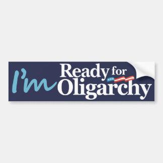Je suis prêt pour la parodie de Hillary Autocollant De Voiture