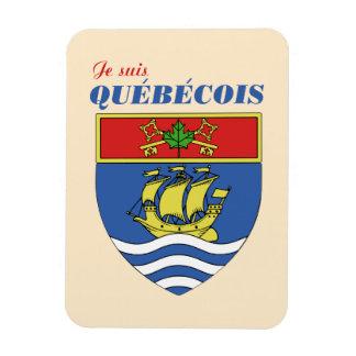 Je suis Quebecois Magnet