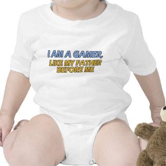 Je suis un Gamer, comme mon père avant moi T-shirt