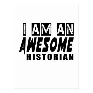 Je suis un HISTORIEN impressionnant Cartes Postales
