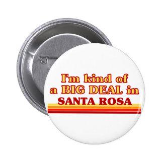 Je suis un peu une AFFAIRE à Santa Rosa Badge Avec Épingle