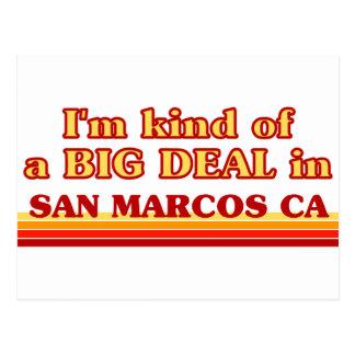 Je suis un peu une AFFAIRE dans San Marcos Cartes Postales