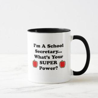 Je suis un secrétaire d'école