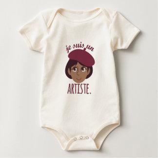 Je Susi Un Artiste Baby Bodysuit