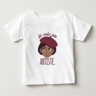 Je Susi Un Artiste Baby T-Shirt
