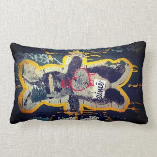 Je T'aime Bunny Streetart Pillow