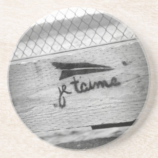 Je T'aime (I love you) Coaster