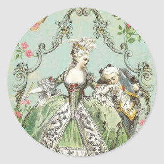 Je T'aime Ma Reine, French Inspired Stickers