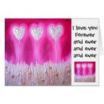 Je t'aime pour toujours… cartes de vœux