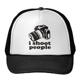 Je tire des personnes casquette de camionneur