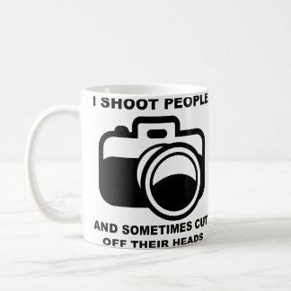 Je tire la tasse drôle de photographe de photograp