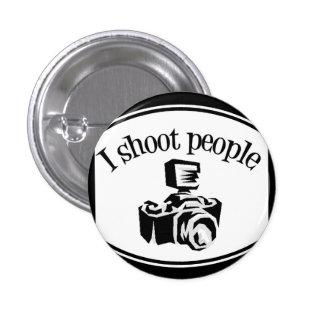 Je tire le rétro appareil-photo B&W de la photogra Pin's Avec Agrafe