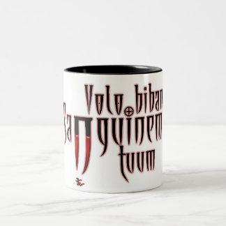 Je veux boire votre sang tasses à café