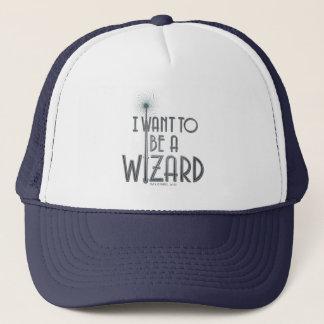 Je veux être un magicien casquette
