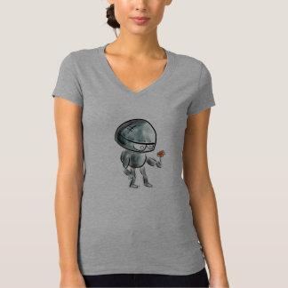 Je viens dans le T-shirt de robot de paix