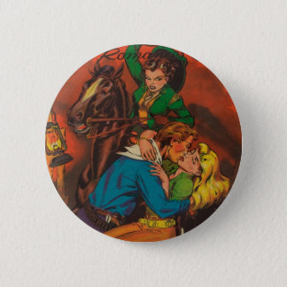 Jealous Cowgirl 2 Inch Round Button